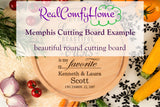 Every Love Story Is Beautiful - Personalized Cutting Board Wedding Gift