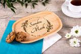 Personalized Wedding Platter - Ideal Gift For Newlyweds