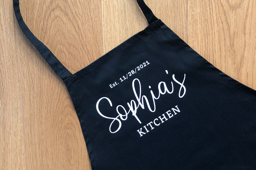 Personalized Apron - Birthday Gift