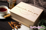 Together We Make A Family - Custom Engraved Tea Or Keepsake Box