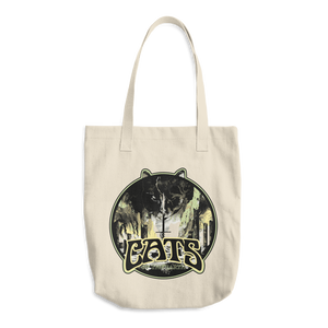 """Cats Of The Earth"" All Purpose Cotton Tote"