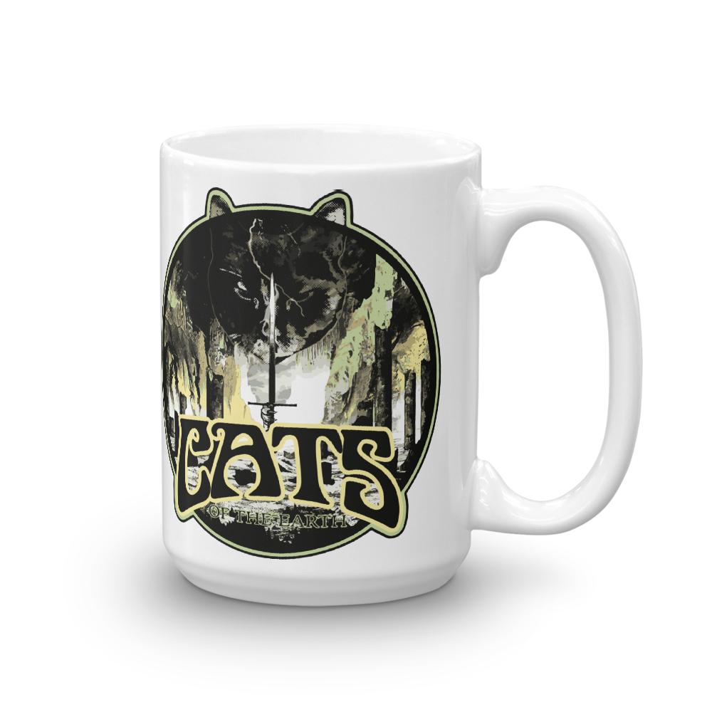 """Cats Of The Earth"" Beverage Mug"