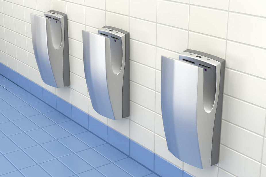 What's the most hygienic way to dry your hands?