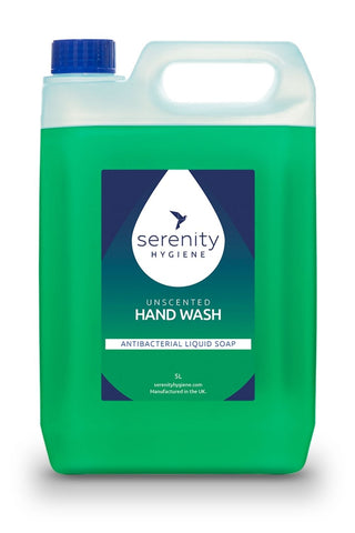 Bactericidal Unscented Hand Wash