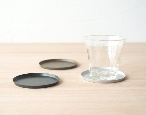 Onami Stainless Steel Coasters (set of two)