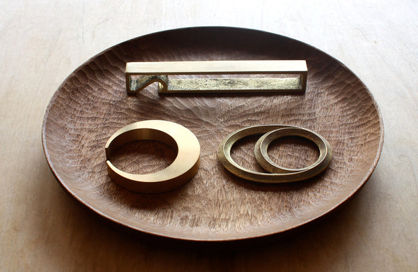 Futagami Brass Bottle Opener