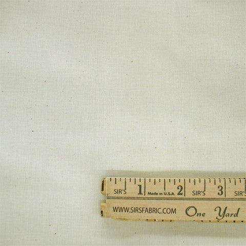 100% Cotton Domestic - Natural 45 Inch