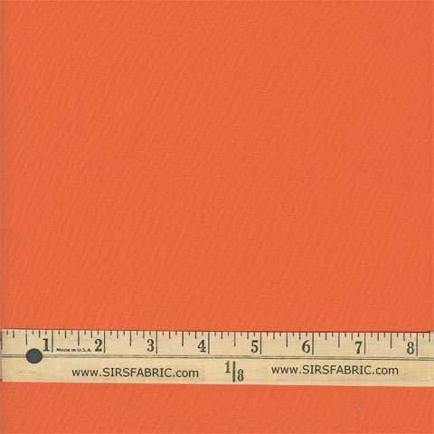 100% Cotton Broadcloth - Orange