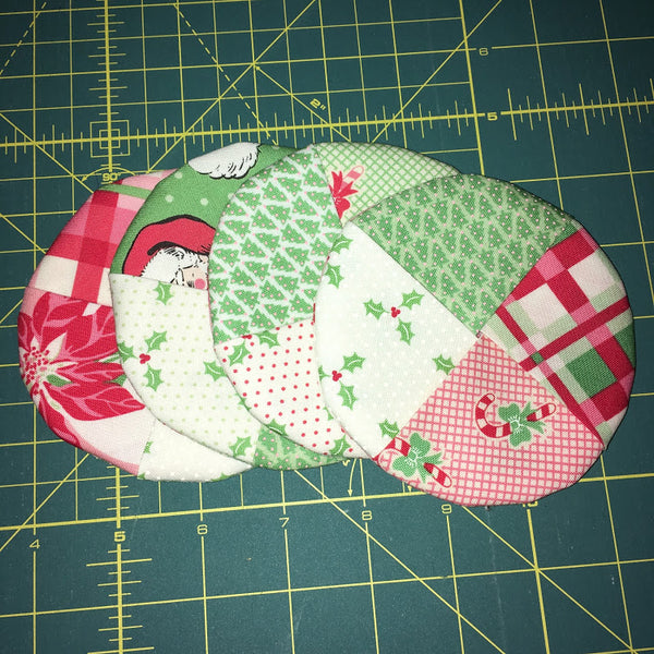 Christmas Sew-Along Project Number 6 - Wine Coasters
