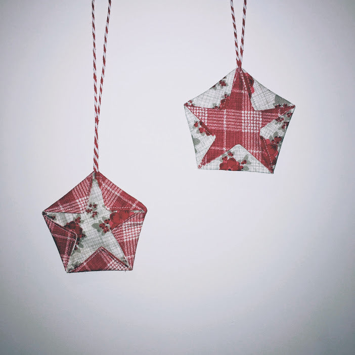Christmas Sew-Along Project Number 4 - Christmas Star Ornaments