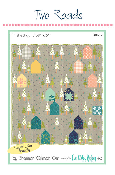 Two Roads (Woodland Secrets) Quilt Pattern