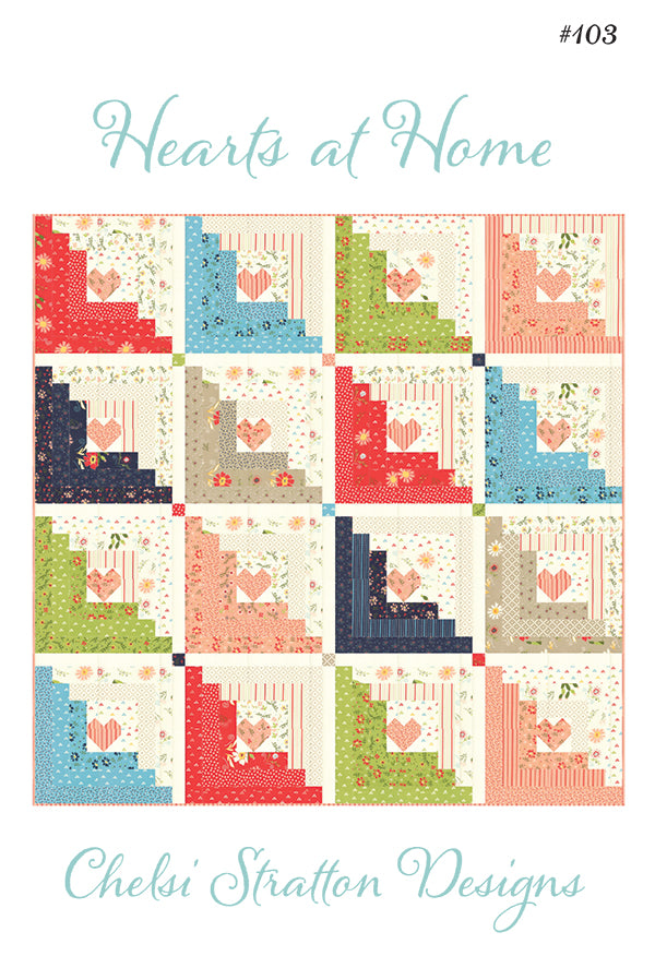 Walkabout - Hearts at Home Quilt Pattern
