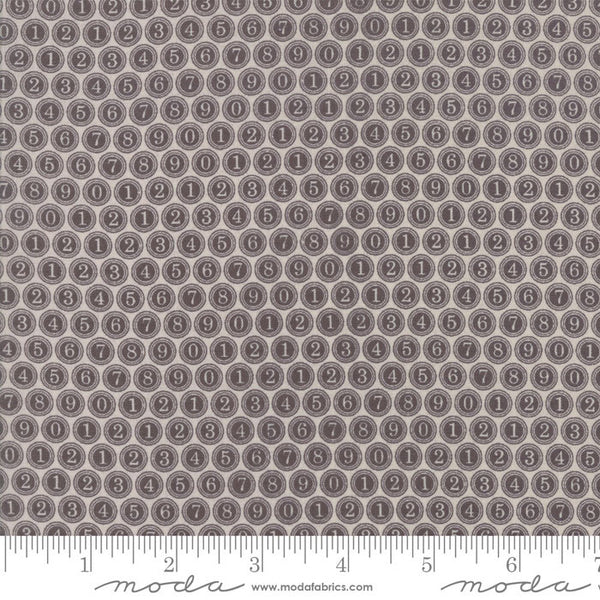 Compositions -  Type Keys in Taupe (1/4 metre)