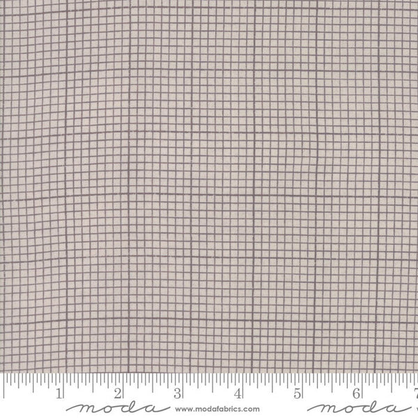 Compositions - Grid in Taupe (1/4 metre)