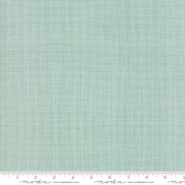 Return to Winter's Lane - Texture in Mint (1/4 metre)