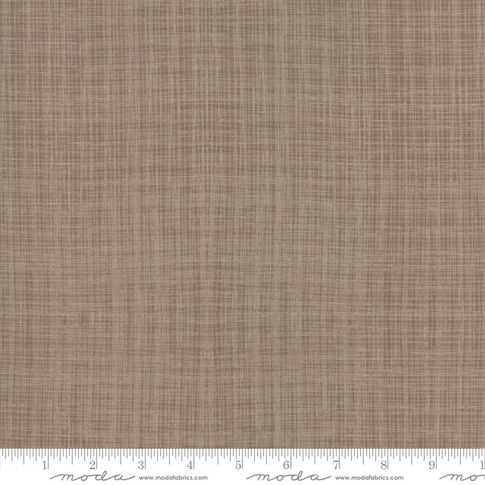 Return to Winter's Lane (Christmas) - Texture in Taupe (1/4 metre)
