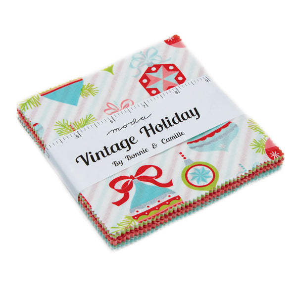Vintage Holiday Christmas by Bonnie and Camille - Charm Pack