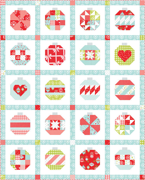 Vintage Holiday Christmas Quilt Kit
