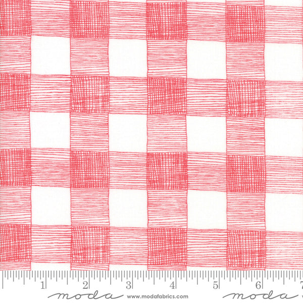 Farm Fresh - Red Gingham (1/4 metre)
