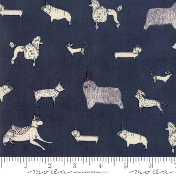 Howl and Hound - Dogs in Dark Night (1/4 metre)