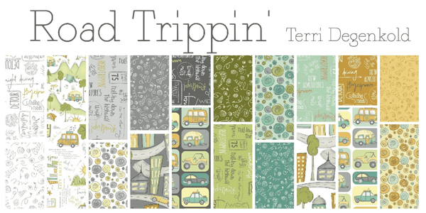 Road Trippin Fat Quarter Bundle