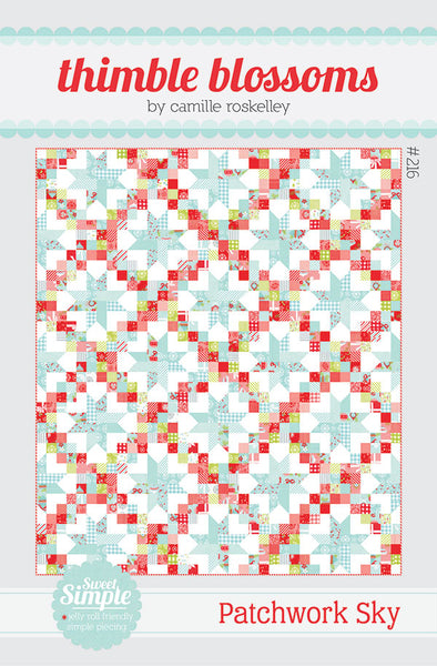 Patchwork Sky - by Camille Roskelley of Thimble Blossoms Quilt Pattern