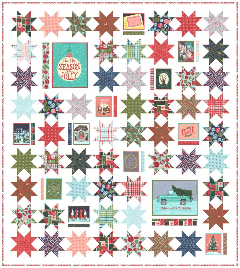 To Be Jolly Christmas Quilt Kit