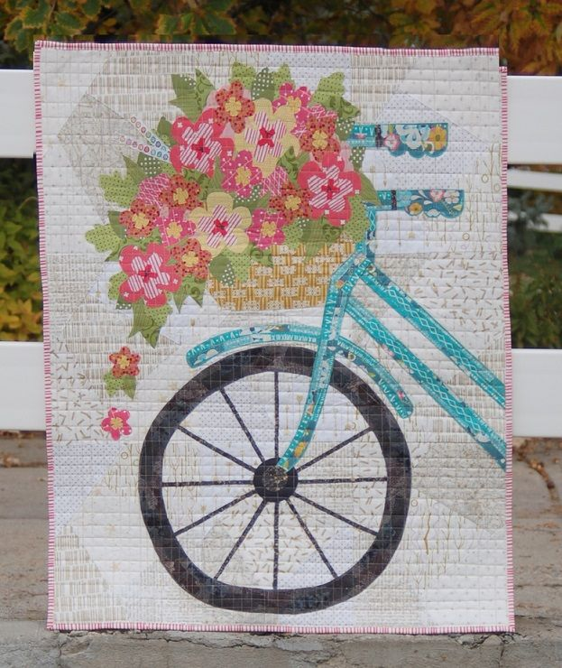 Blossoms and Spokes Pattern