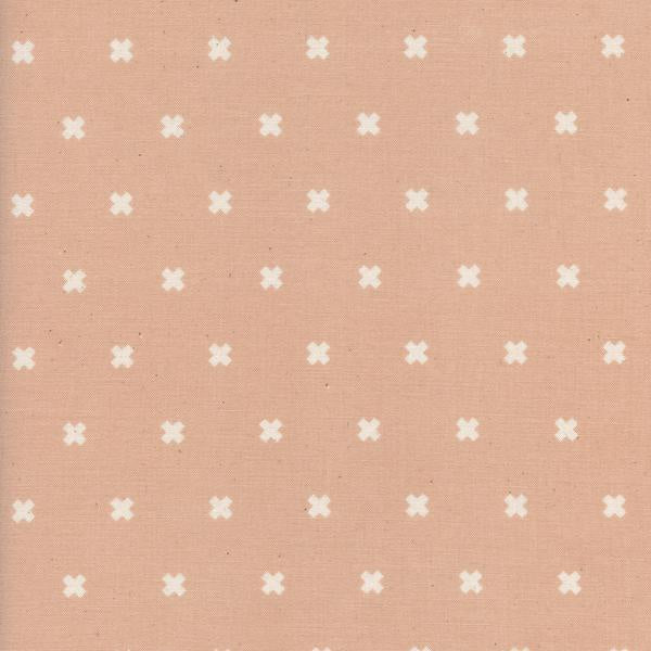 Cotton and Steel Basics - XOXO Ballet (Unbleached) (1/4 metre)