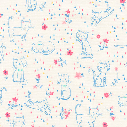 Whiskers and Tails in Pastel (1/4 metre)