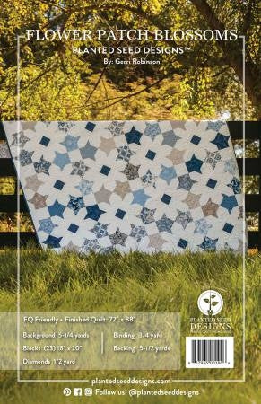 Blossom and Flower Patch Blossoms Quilt Patterns