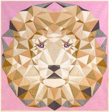Jungle Abstractions Quilt Kit: The Lion