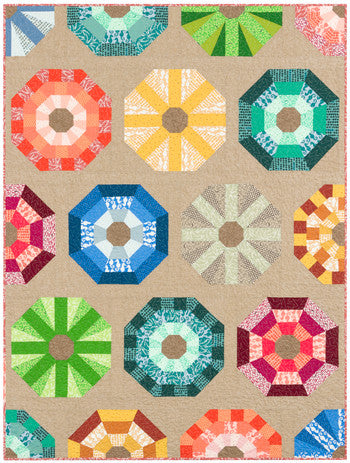 Sea Urchins Quilt Kit