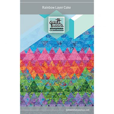 Rainbow Layer Cake Quilt Pattern