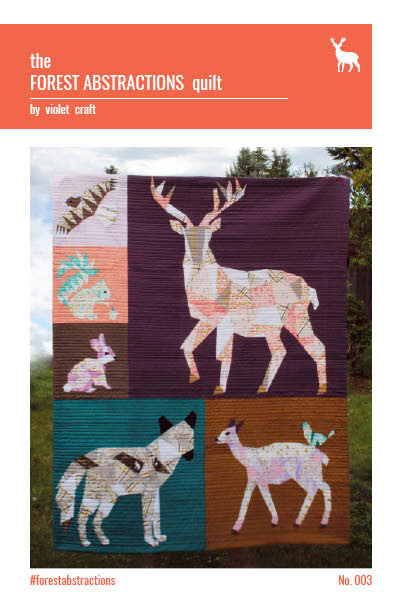 The Forest Abstractions Quilt Pattern