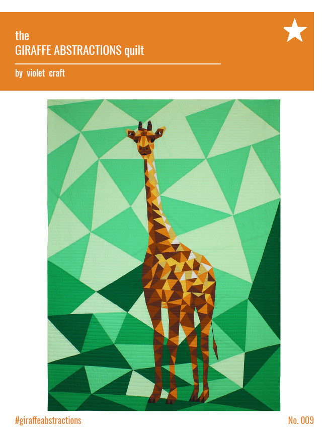 The Giraffe Abstractions Quilt Pattern