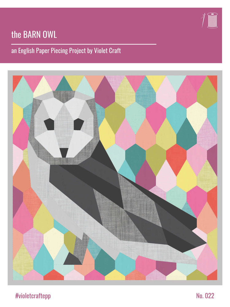 The Barn Owl - an English Paper Piecing Project