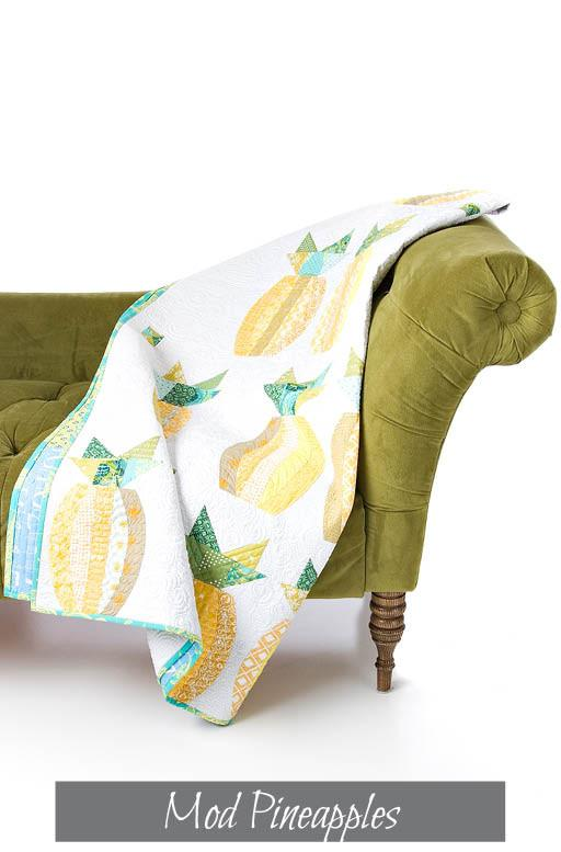 Mod Pineapples Quilt Pattern