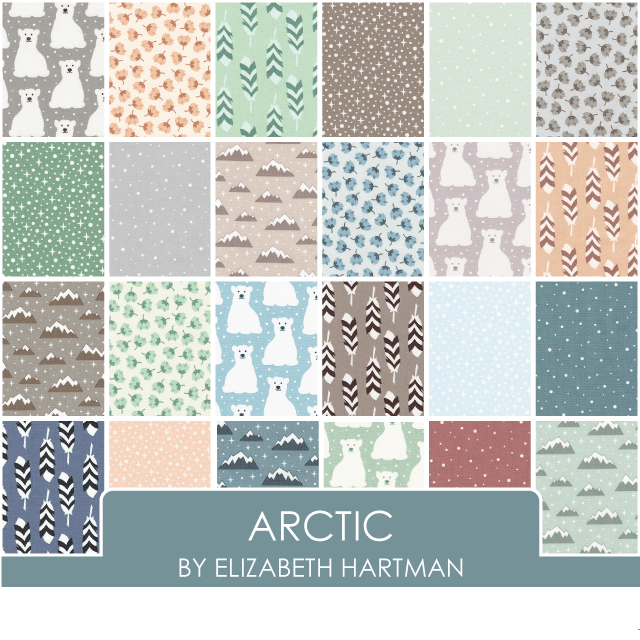 Arctic by Elizabeth Hartman - Layer Cake