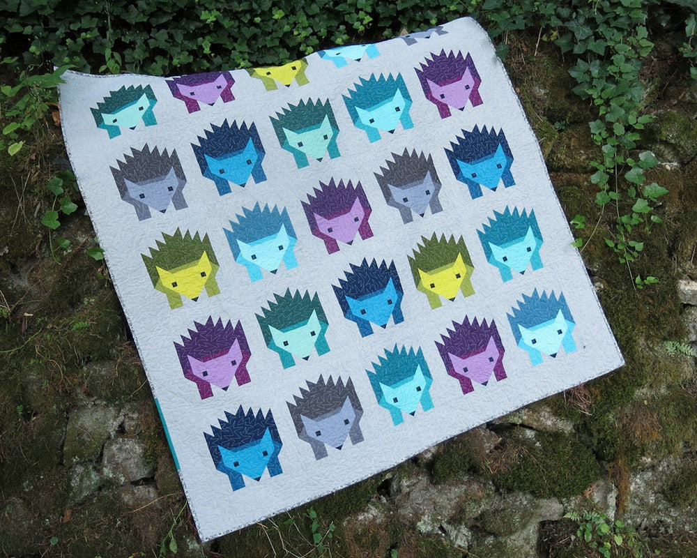 Hazel Hedgehog Quilt Pattern