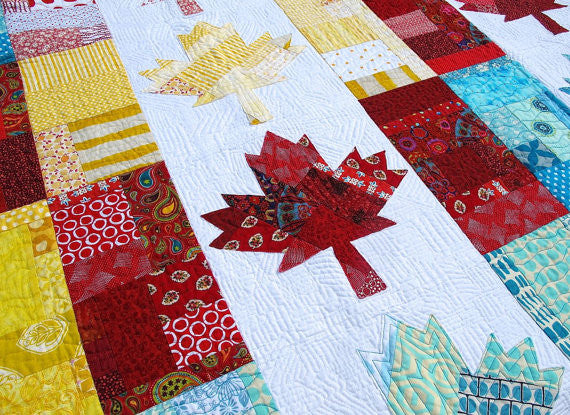 Oh, Canada! Quilt Pattern