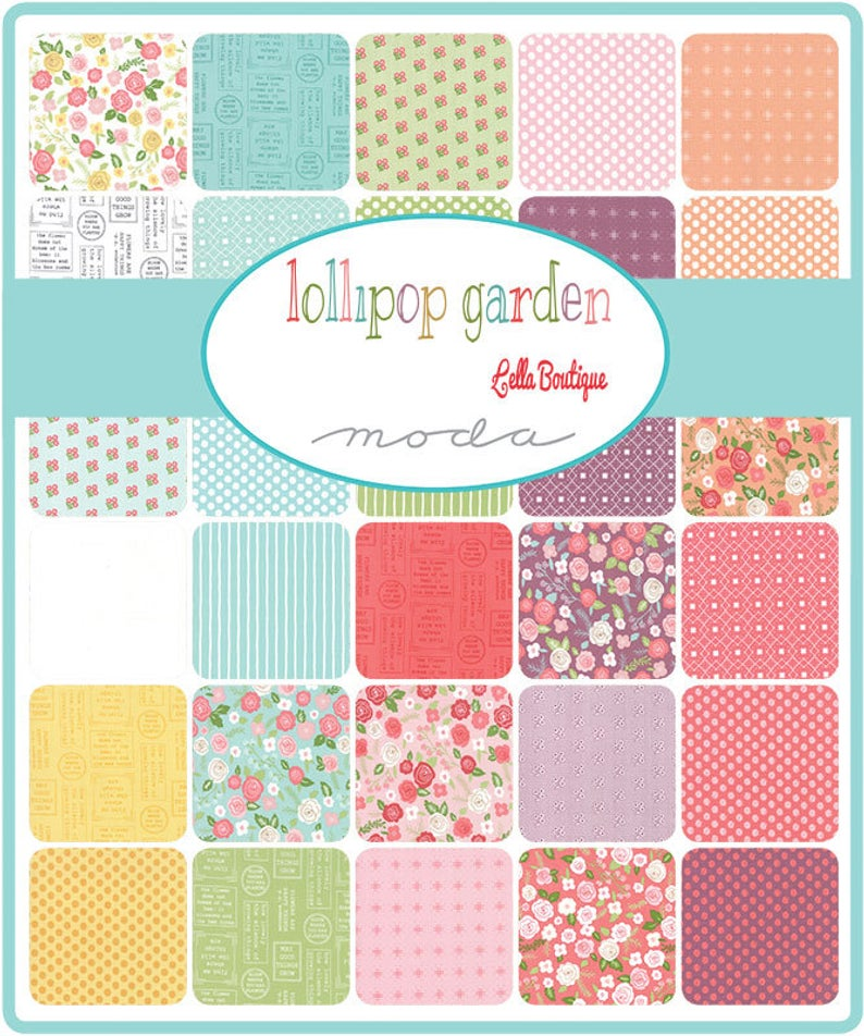 Lollipop Garden - Charm Pack