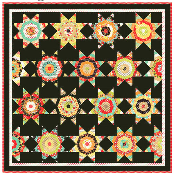 Chestnut Street Quilt Kit - Midnight