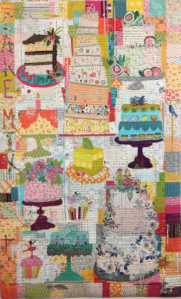 Cake Mix Collage Quilt Pattern