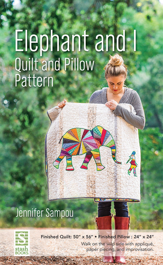 Elephant and I Quilt Pattern