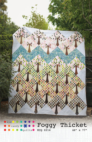 Foggy Thicket Quilt Pattern