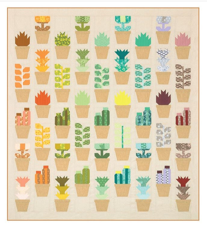 Greenhouse Quilt Pattern