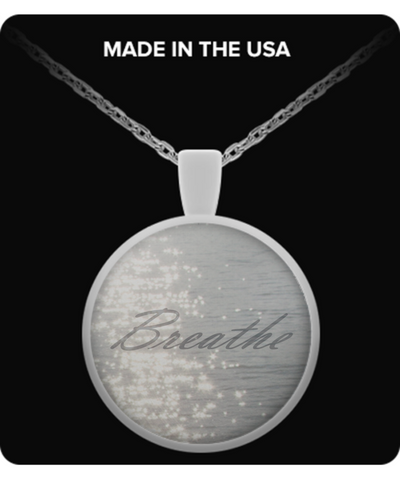 Breathe beautiful silver plated pendant necklace breathe beautiful silver plated pendant necklace annies anthologie aloadofball Image collections