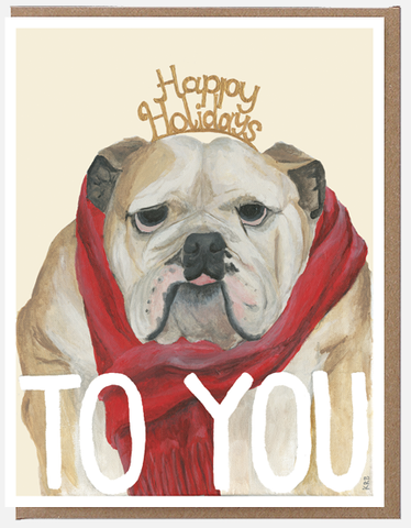 HOLIDAY TOYOU Card