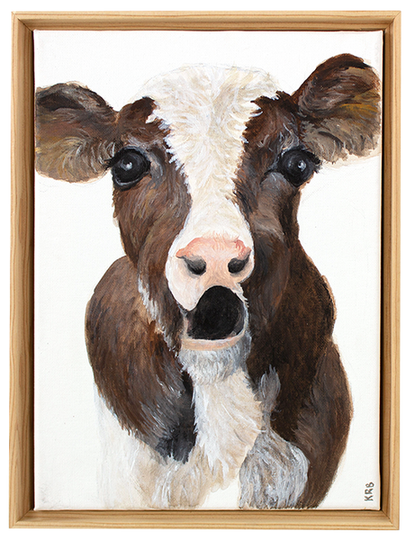 Calf Original Painting